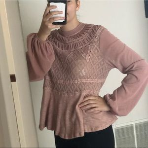 NWT FREE PEOPLE BLOUSE SIZE M